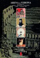 ARENA DI VERONA   1991   PUBBLICAZIONE  UFFICIALE DELLA 69a STAGIONE  LIRICA - Books, Magazines, Comics