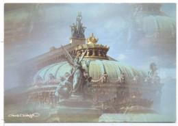 CP Paris L'opéra Photographe Francisco Hidalgo  Edition AGEP  Réf 00016103 - Illustrators & Photographers