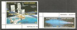 Serie Nº 402/5 + 391/2  Guinea-bissau - Astrología