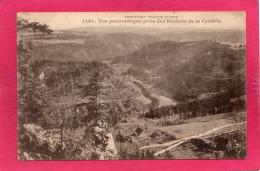 Frontière Franco-Suisse, Vue Panoramique Prise Des Rochers De La Cendrée, 1927, (L. Gaillard-Prêtre), 25 Doubs - Francia