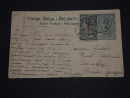 CONGO BELGE - Entier Postal ( Vapeur Sur La Rive ) Pour Conakry En 1923 - A Voir - L 1332