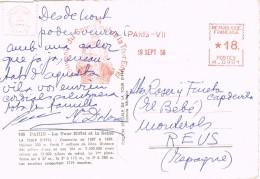 19000. Postal PARIS 1956. Franqueo Mecanico. Tour Eiffel - [7] Federal Republic