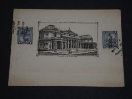 URUGUAY - Document Du Théâtre De Montevideo - A Voir - L 1334 - Uruguay