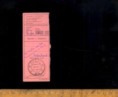 Récepissé De Mandat Strook Coupon  / BREDA 1965 - Paesi Bassi