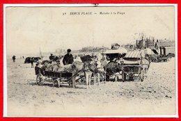 62 - BERCK -- Malades à La Plage - Berck