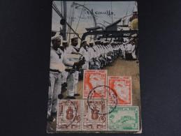 PEROU - Oblitération De Lima Sur Carte Postale Pour Le Paraguay  En 1939 - A Voir - L 1337 - Pérou