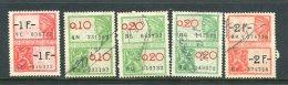 Belgium Tax Revenue Used Hand Canceled - Revenue Stamps