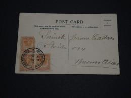 URUGUAY - Oblitération De Montevideo Sur Carte Postale Pour Buenos Aires En 1913 - A Voir - L 1339 - Uruguay