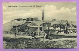 Capo Zarrug - Accantonamento Del 35° Fanteria - Libye