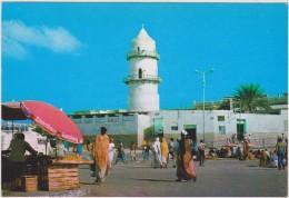 AFRIQUE,AFRICA,AFRIKA,ex Colonie,DJIBOUTI ,JABUUTI,commerce,mosquée - Gibuti