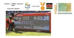 Spain 2016 - Olympic Games Rio 2016 - Gold Medal Athletics Male Kenya Cover - Juegos Olímpicos