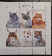 Poland, 2010, Mi: Block 191 (MNH) - Chats Domestiques