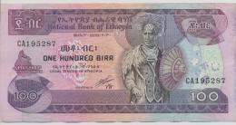 ETHIOPIA P. 45b 100 B 1991 VF - Ethiopie