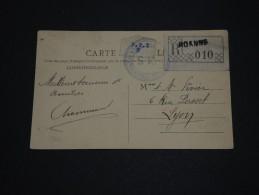 FRANCE - Carte Postale En Recommandée De Roanne En 1911 - A Voir - L 1352 - Postmark Collection (Covers)