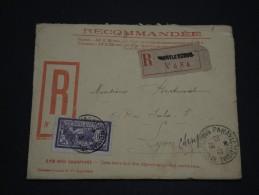 FRANCE - Enveloppe En Recommandée Et Illustrée De Paray Le Monial En 1923 , Rare - A Voir - L 1353 - Marcofilia (sobres)