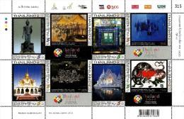 Thailand - 2013 - World Stamp Exhibition Thailand 2013, 3rd Series - Mint Souvenir Sheet - Thailand