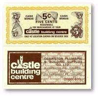 CANADA - 5 Cents - Cash Bonus - CASTLE Building Centre - Toronto - Canada