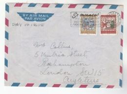 1967 SWITZERLAND Stamp COVER SLOGAN Pmk EN VACANCES Une PIECE D´IDENTITE VALABLE FACILITERA VOS RELATIONS AVEC LA POSTE - Switzerland