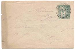 Indochine Indochina Saigon 1891 Entier Lettre Cover Carta Belege Stationery Ganzsache Colonies Générales Alphée Dubois. - Indochine (1889-1945)