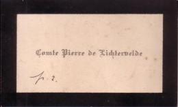 Comte Pierre De Lichtervelde Carte De Visite Vers 1900 - Cartes De Visite