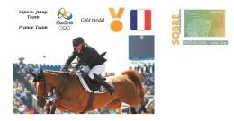 Spain 2016 - Olympic Games Rio 2016 - Gold Medal Hipica France Team Cover - Juegos Olímpicos