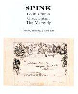 1998 Spink 'Louis Grunin Great Britain The Mulready' Auction Catalogue - Catalogi Van Veilinghuizen