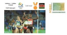 Spain 2016 - Olympic Games Rio 2016 - Gold Medal Athletics Female Kenya Cover - Juegos Olímpicos