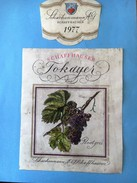 1502 - Suisse Schaffhouse Schaffhauser Tokayer Pinot Gris 1977 - Etiquettes