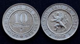 10 Centimes 1862 Belgique. Qualité! - 1831-1865: Léopold I