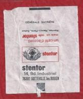 Suikerwikkel.- STENTOR. Un Café D'accord... Mais Un Café Stentor  14, Bd. Industriel,Sotteville Les Rouen  Zucchero - Sucres