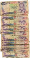 Lot De 24 Billets De 100 Kwacha De Zambie - Zambia