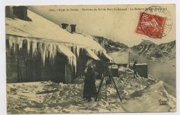 CPA: 73 - ALPES DE SAVOIE -  ENVIRONS DU COL DU PETIT St BERNARD - LA REDOUTE RUINÉE (EN HIVER) - - Sonstige Gemeinden