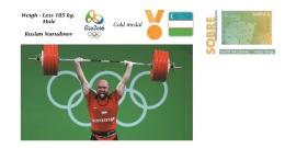 Spain 2016 - Olympic Games Rio 2016 - Gold Medal Weigh Uzbekistan Cover - Juegos Olímpicos