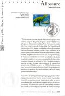 """FRANCE 2000 : Notice Officielle 1er Jour """" ALLOSAURE """". N° YT 3334. Parfait état !"""