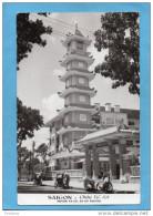 Marcophilie-Viet Nam- Carte SAÏGON -Pagode XA LOI-station Pousse  Pousse-oblit Rouge 08,00 1966 - Viêt-Nam