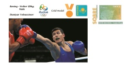 Spain 2016 - Olympic Games Rio 2016 - Gold Medal Boxing Welter Male Kazajistan Cover - Juegos Olímpicos