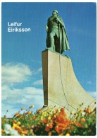 ICELAND - STATUE OF LEIF ERICSON / THEMATIC STAMP-AIRPLANE/AVION - Islanda