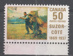 Canada 1969. Scott #492 (U) Return From The Harvest Field, By Aurele De Foy Sozor-Coté - 1952-.... Règne D'Elizabeth II