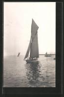 AK Stockholm, Olympiade 1912, Segelboot Nurdug II In Fahrt, Segelsport - Sailing