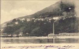 1903-Lago Maggiore Ronco Di Ghiffa, Cartolina Viaggiata Con Annullo Di Ghiffa - Verbania