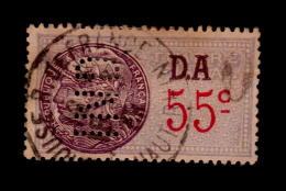 FRANCE TIMBRE FISCAL DA PERFIN IND OBLITERE  (LB032) - Steuermarken