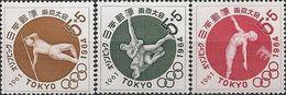 JAPAN - COMPLETE SET SUMMER OLYMPIC GAMES OF TOKYO'64, 1961 - MNH - Summer 1964: Tokyo