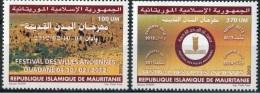 MAURITANIE MAURITANIA 2012 YT 806/7 FESTIVAL DES VILLES ANCIENNES ANCIENT CITIES FESTIVAL FAIR MNH ** RARE - Mauritanie (1960-...)