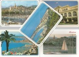 5 CARTOLINE MENTON (63) - Cartoline