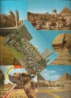 7 CARTOLINE EGITTO (53) - Cartoline