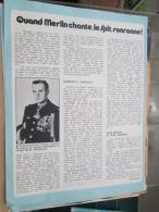 Rubrique AVIATION PIERRE CLOSTERMANN Années 70 Découpée Proprement Dans Un Spirou Cette Rubrique était Tenue Par Mister - Aerei