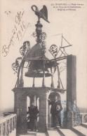 G , Cp , 18 , BOURGES , Plate-Forme De La Cathédrale , Beffroy Et Pélican - Bourges