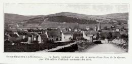 1909 - Iconographie Documentaire - Saint-Gengoux-le-National (Haute-Saône) - Vue Générale - FRANCO DE PORT - Unclassified