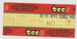 Ticket Metro Lille - Abonnements Hebdomadaires & Mensuels
