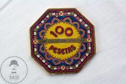 Old 1900's Spain San Sebastian Casino Chip - 100 Pesetas - Casino